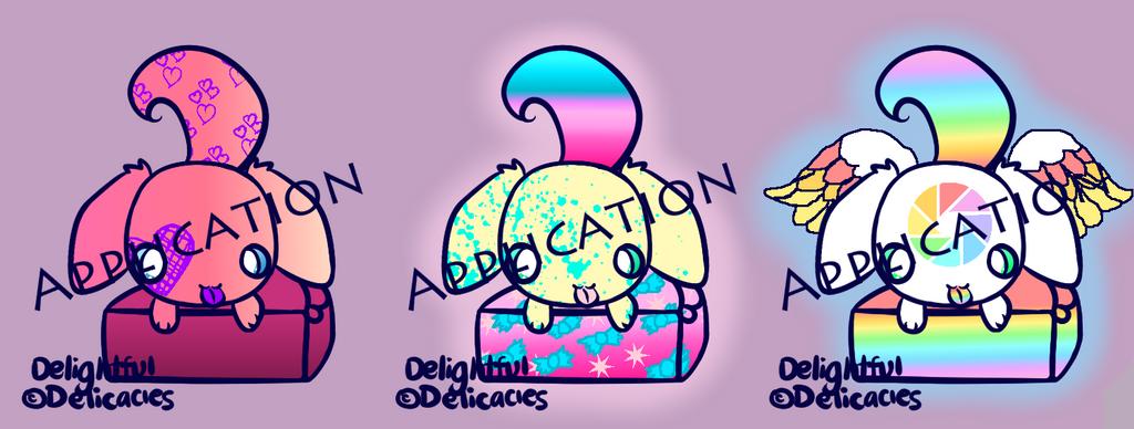 Delightful Delicacies Baker Application by rockythebunny13