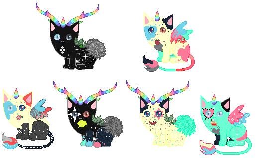 Unicat breeding #2 (closed) by rockythebunny13