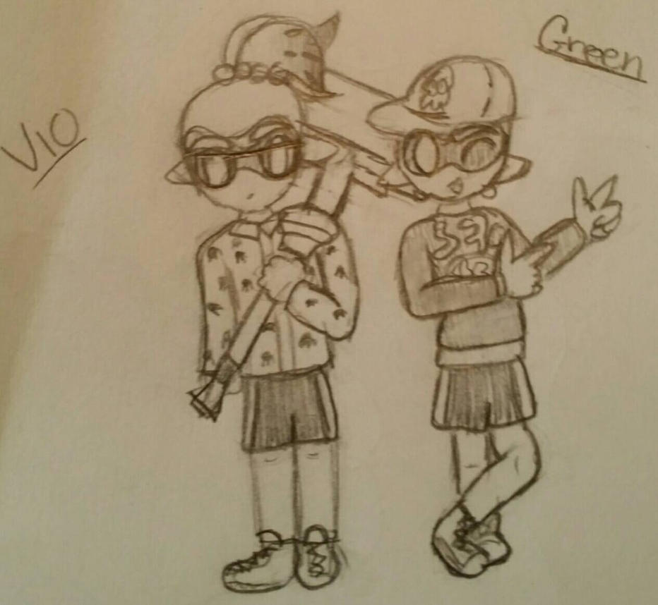 Yet more Squids by rockythebunny13
