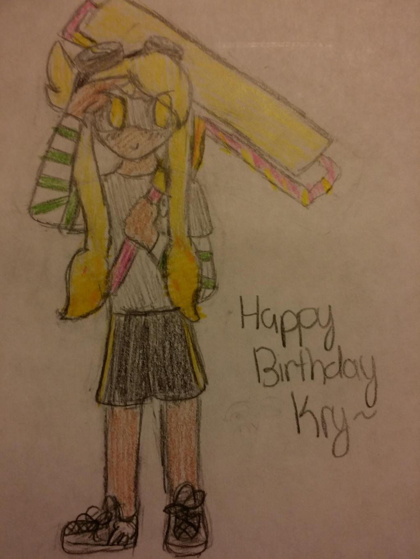 Happy birthday Kry~ by rockythebunny13