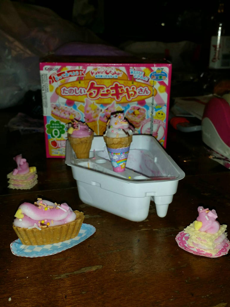 Tfw ur friend and u make Popin cookin ice cream by rockythebunny13