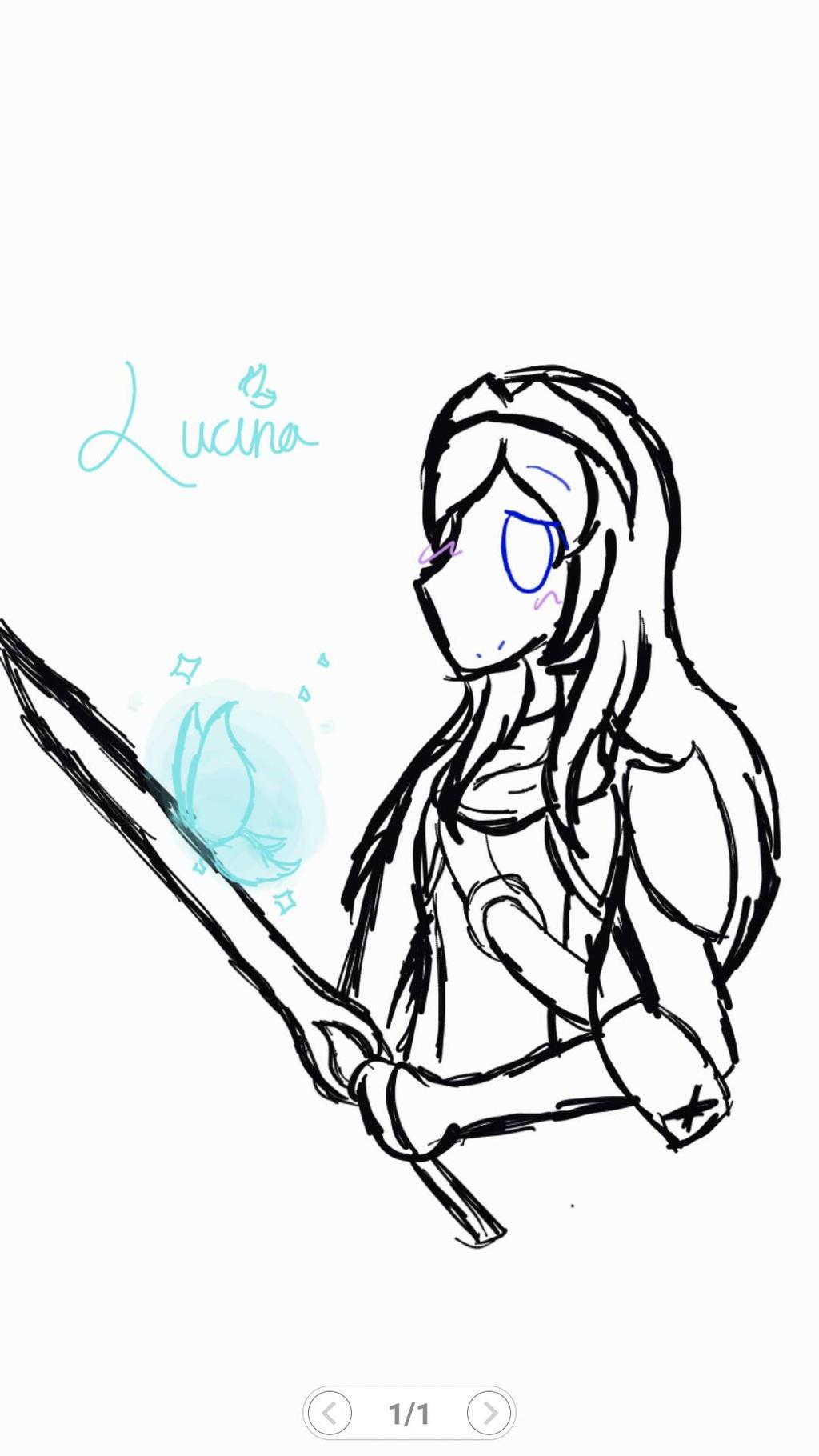 Fire Emblem ~ Lucina by rockythebunny13
