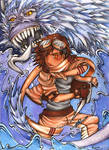 The Water Dragon by Kiarona91