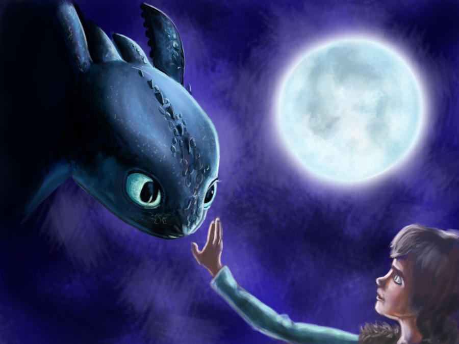 how to train your dragon 3d touch wallpaper