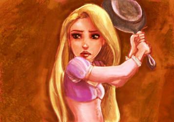 Tangled - Rapunzel by ChristyTortland
