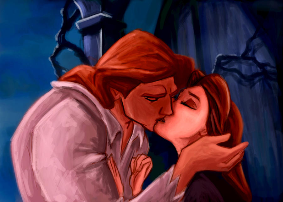 Kiss Beauty And The Beast By ChristyTortland