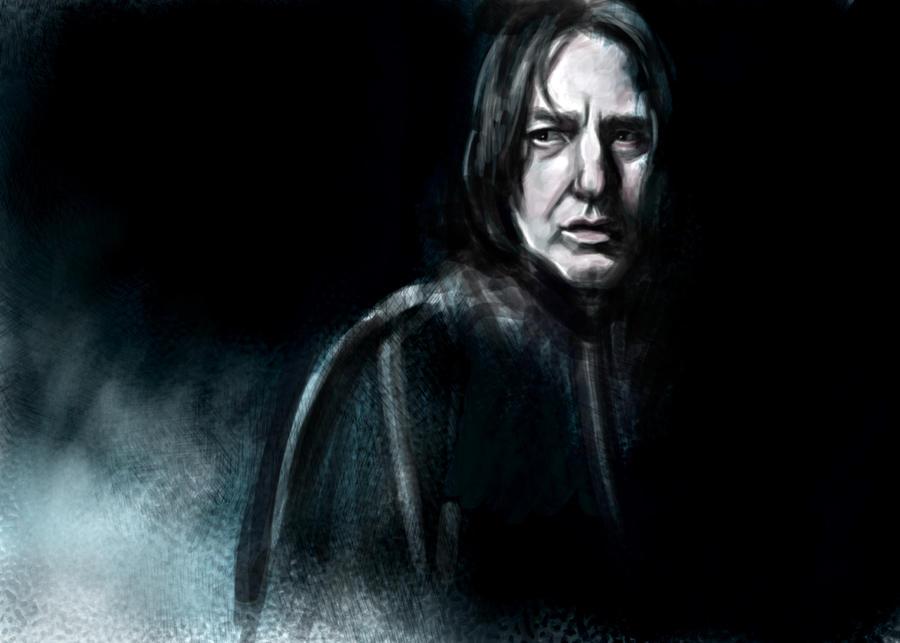 Severus Snape by ChristyTortland