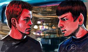 Kirk and Spock - Star Trek