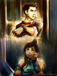 Where Have You Been - Korra and Mako