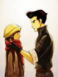 Korra and Mako's Scarf