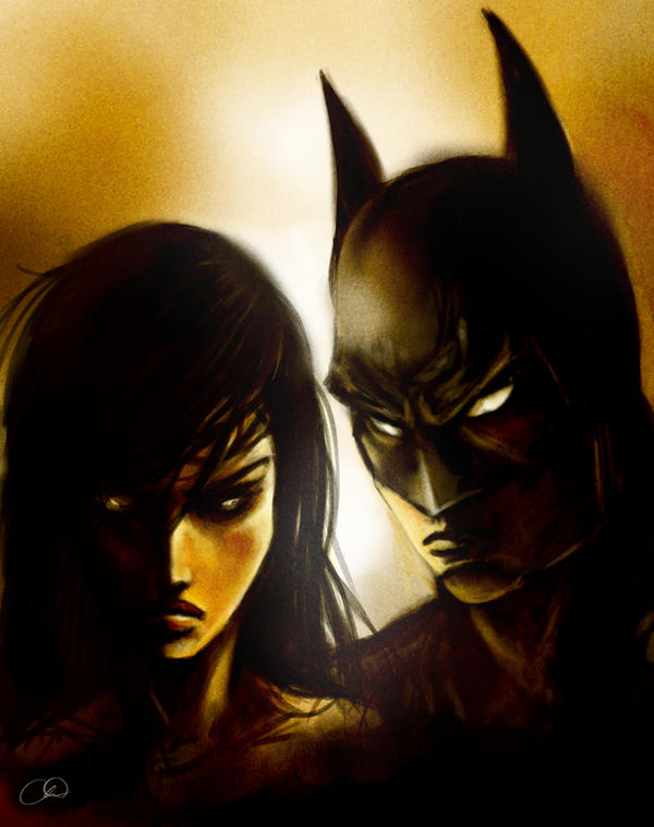 Batman and Wonder Woman - Hunter's Moon by ChristyTortland