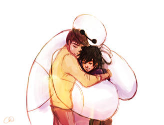 Big Hero 6 - I am Here With You Now