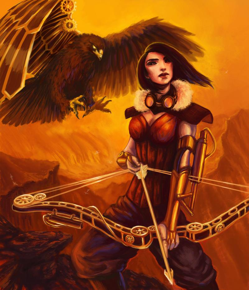 Eagle Archer by ChristyTortland