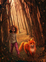 The Fox and the Forest by ChristyTortland