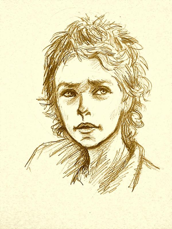Carol sketch by ChristyTortland