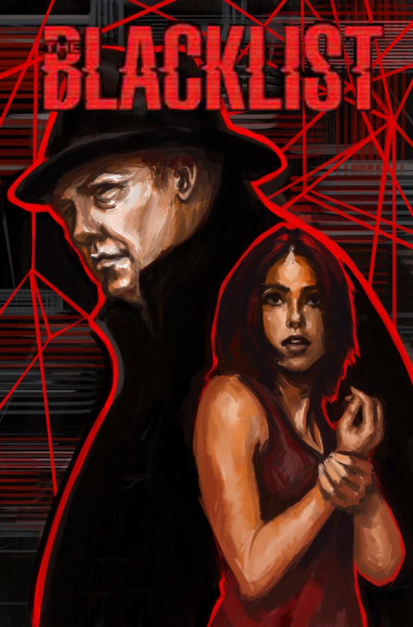 The Blacklist Comic Book Cover by ChristyTortland