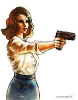 Agent Carter by ChristyTortland