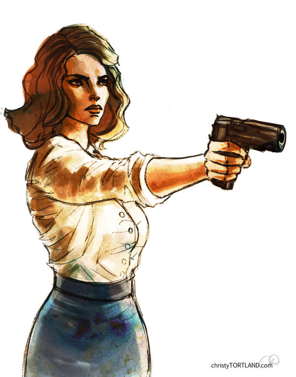 Agent Carter by ChristyTortland