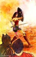 Wonder Woman - Batman V Superman by ChristyTortland