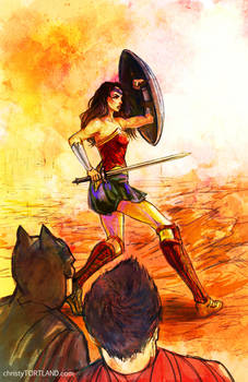 Wonder Woman - Batman V Superman