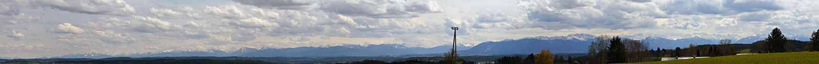Alps panorama by Gamekiller48