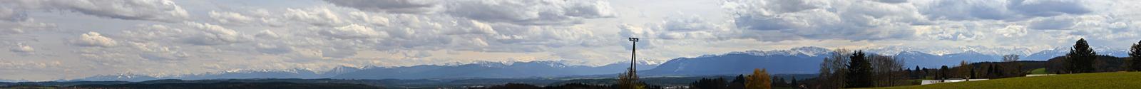 Alps panorama by Gamekiller48