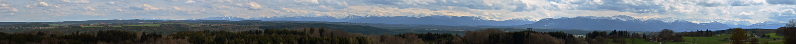 giant panorama of the Alps by Gamekiller48