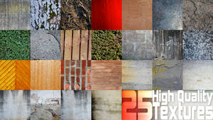 25 High Quality Textures