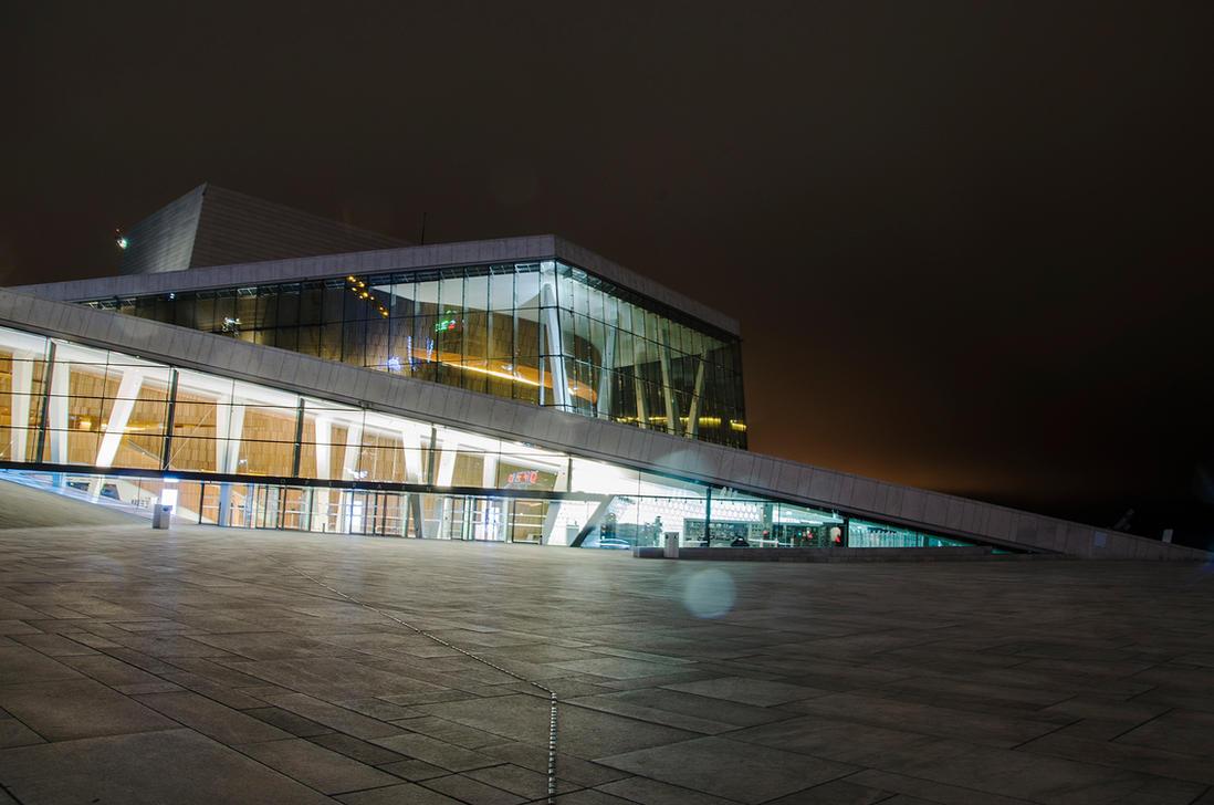 Oslo opera by Gamekiller48