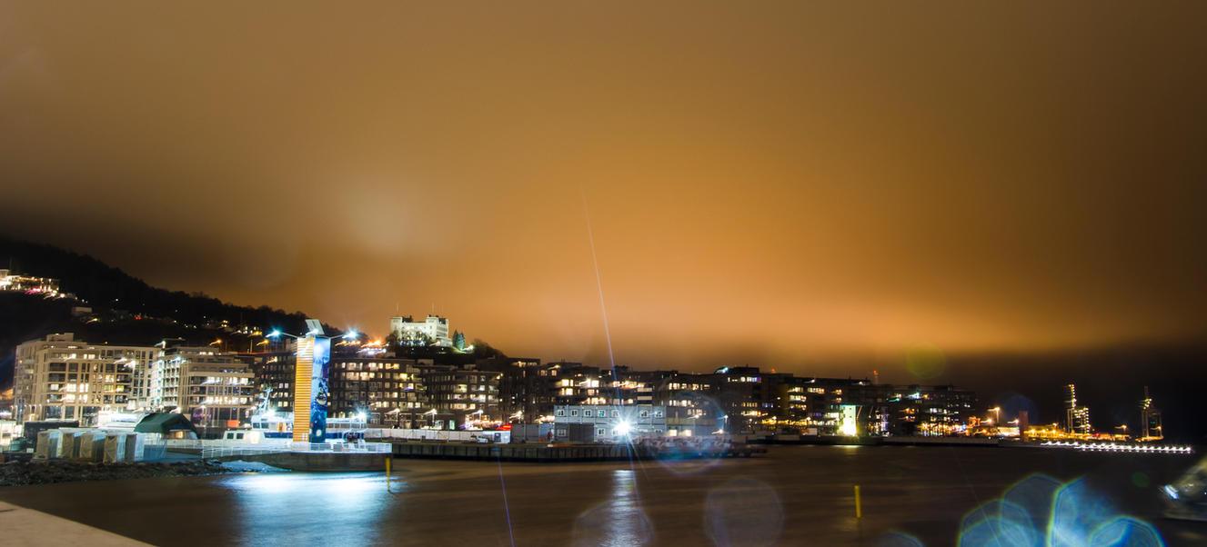 Oslo at night #2 by Gamekiller48