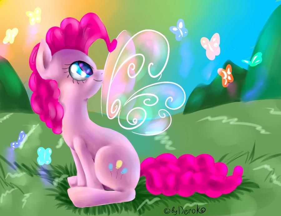 Pinkie Pie by Deroko
