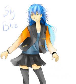 [DRAMAtical Murder] Sly Blue
