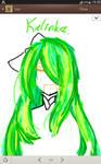 [Undertale OC] Hair Practice (1)