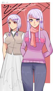 OC || Kireta and Teika