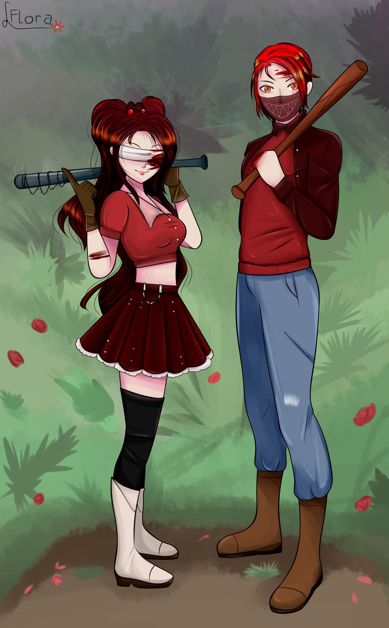 OC || Luciolla and Lokioza