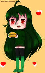Commission || Burger Zoey!