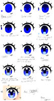 Baby Eye Step By Step