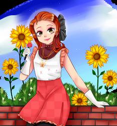 Cynthia, Summer Magical Girl || OC