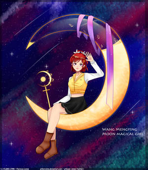 Wang Mengying, Moon Magical Girl || OC ||