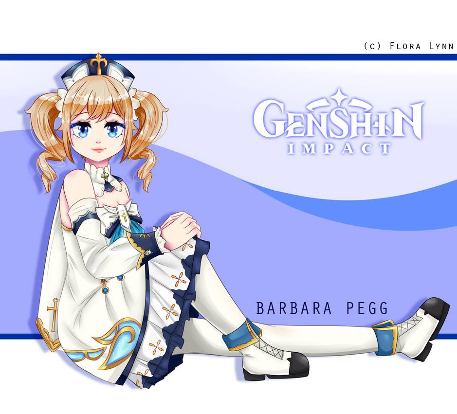 Barbara Pegg || Genshin Impact