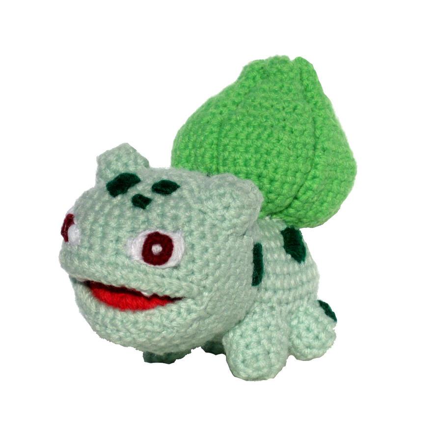 Crocheting Pokemon : Pokemon Crochet: Bulbasaur by kerryroulston on DeviantArt
