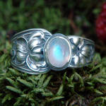 Upcycled Silver Spoon Ring 1