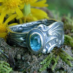 Upcycled Silver Spoon Ring 2