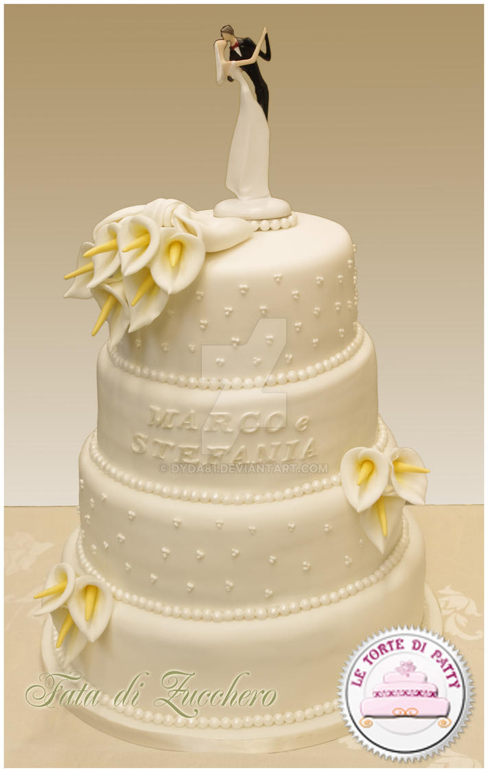 White Wedding Cake By Dyda81 On DeviantArt