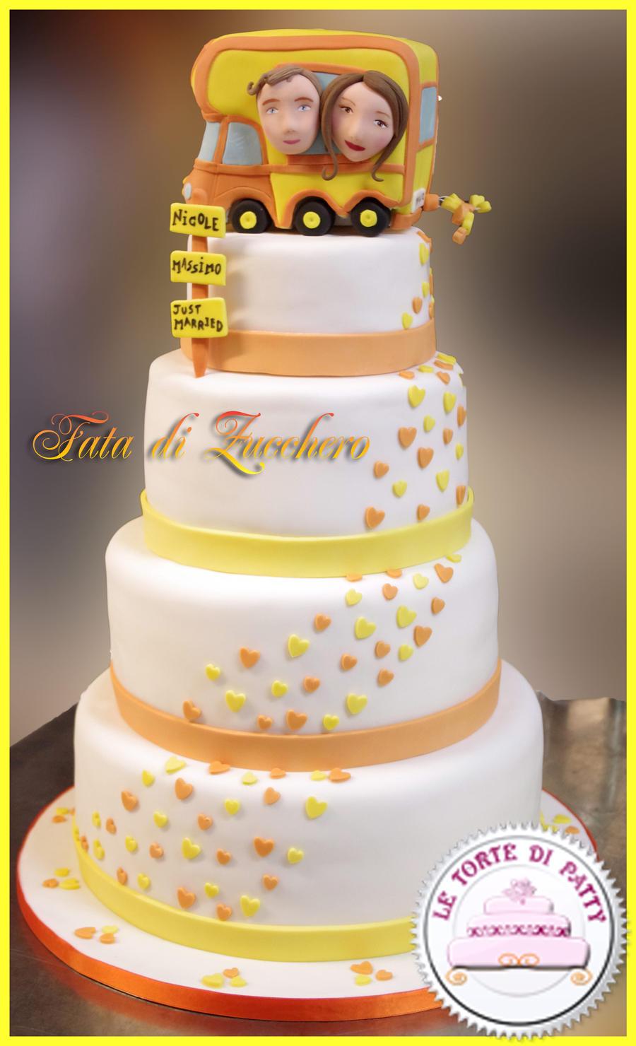 Funny Wedding Cake By Dyda81 On Deviantart