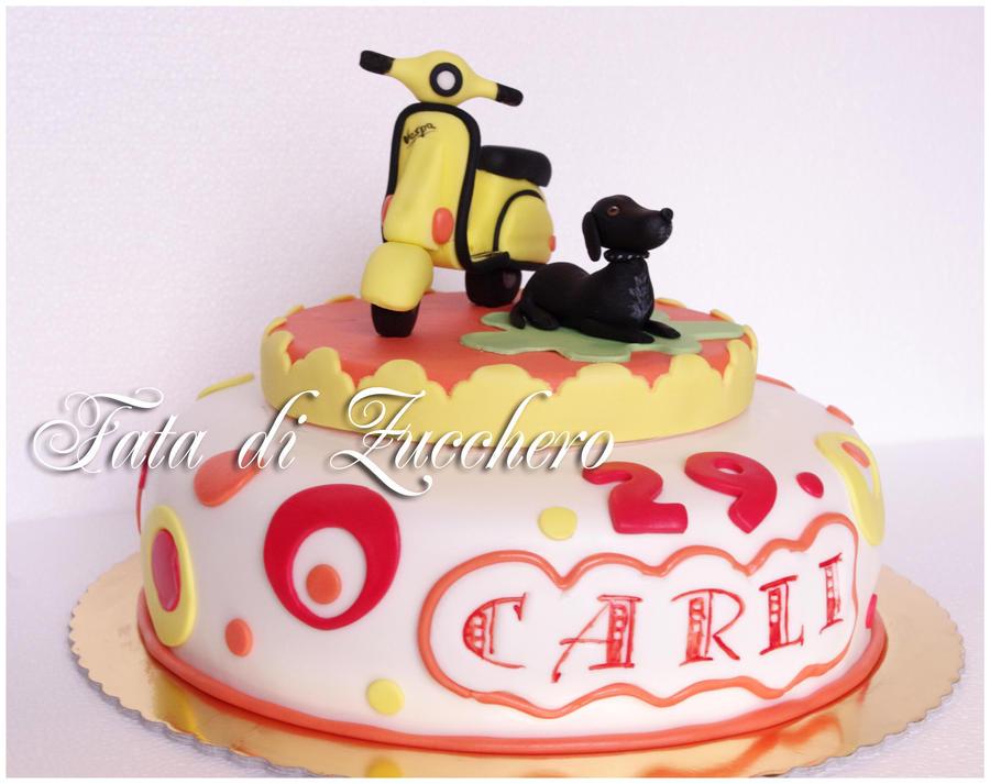 vespa cake by Dyda81