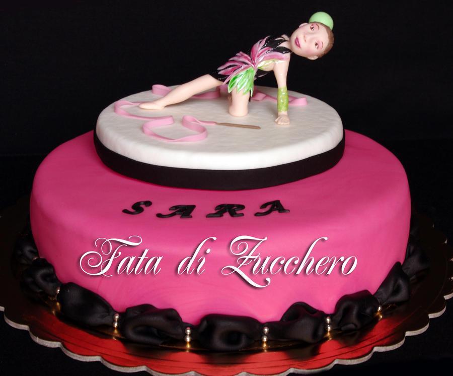Gymnastics Cake Ideas