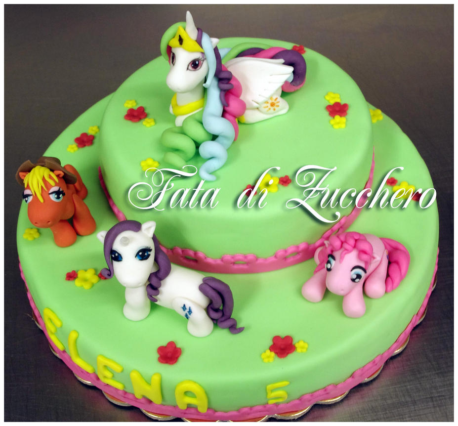 Pony Birthday Cake Ideas