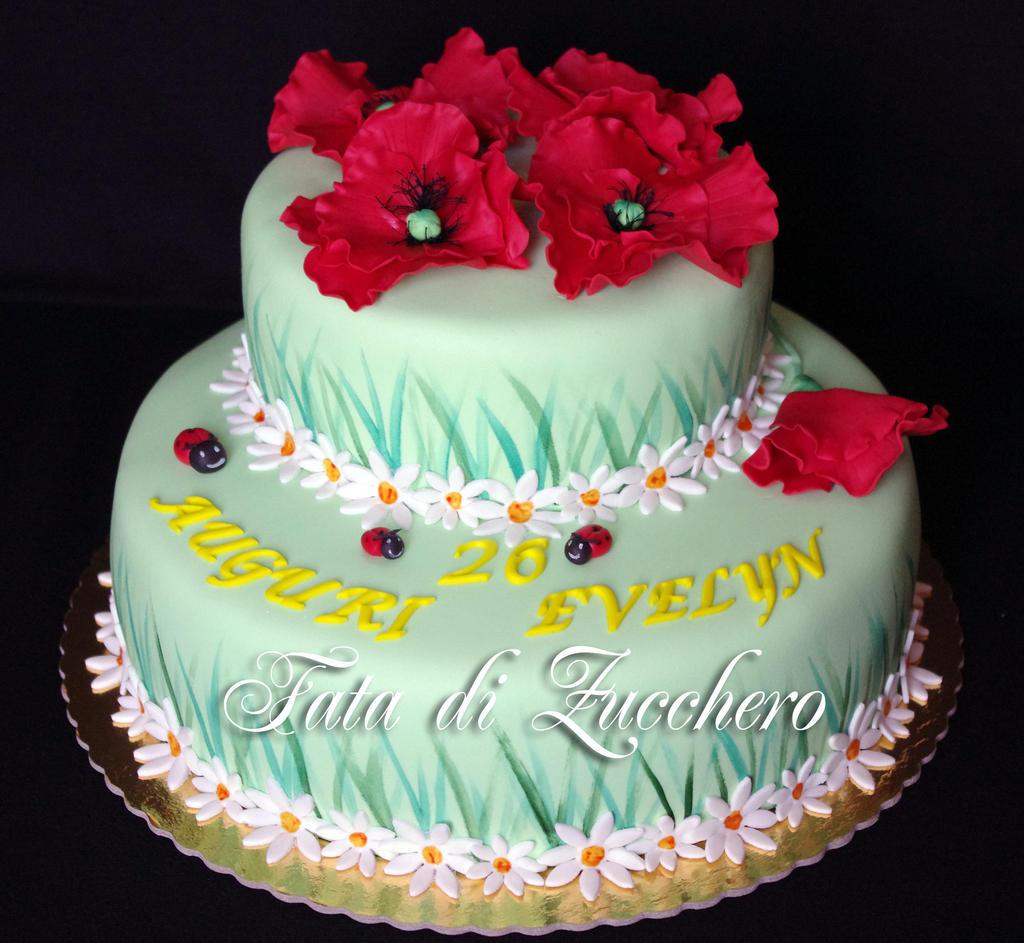 Poppy cake 01 by Dyda81 on DeviantArt