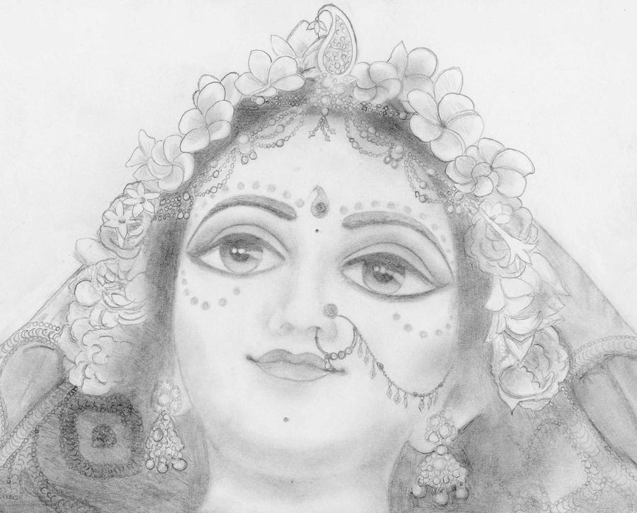 Radharani Radharani in Mayapur by